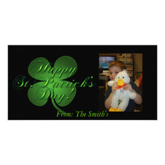 St. Patrick's Day Photo Card