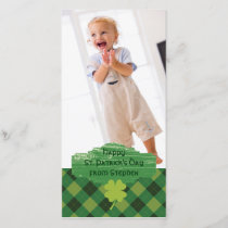 St. Patrick's Day Photo Greeting Card