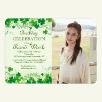 St. Patrick's Day Photo Invitation