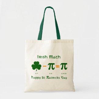 St Patricks Day & Pi Day Combination Tote Bag