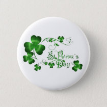 St Patricks Day Pinback Button