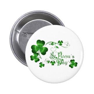 St Patricks Day Pinback Button