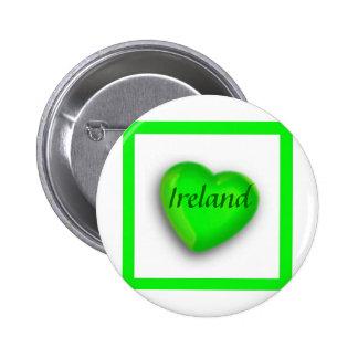 St Patrick's Day Pinback Button