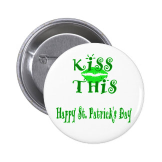 St. Patrick's Day Pinback Buttons