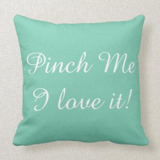 St. Patrick's Day PINCH ME pillow! Throw Pillows