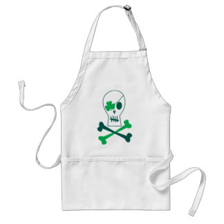 St. Patrick's Day Pirate Adult Apron