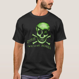 St. Patrick's Day Pirate Skull T-Shirt