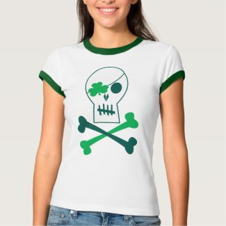 St. Patrick's Day Pirate shirt