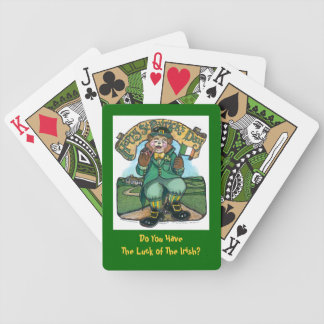 St. Patrick's Day Playing Cards