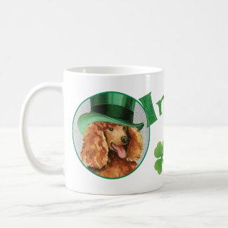 St. Patrick's Day Poodle Coffee Mug
