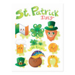 St. Patrick's Day Post Cards