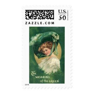 St. Patrick's Day Postage