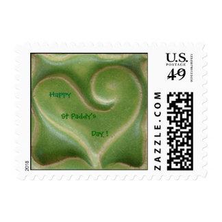 St Patrick's Day Postage