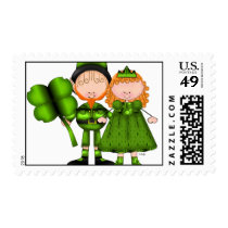 St. Patricks Day Postage