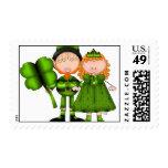 St. Patricks Day Postage