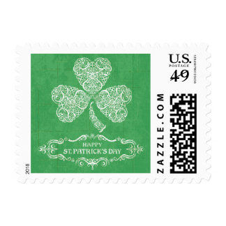 St. Patrick's Day Postage Stamp