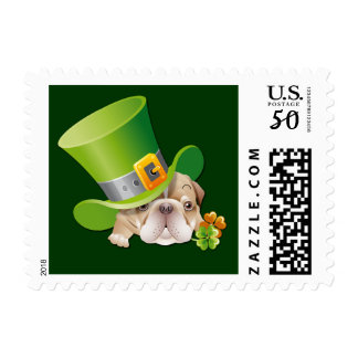 St.Patrick's Day Postage Stamps