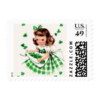 St. Patrick's Day Postage Stamps