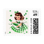 St. Patrick's Day Postage Stamps Stamps