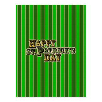St Patricks Day Postcard