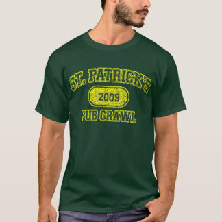 St Patricks Day Pub Crawl T-Shirt