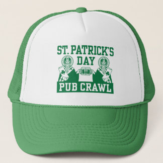 St. Patrick's Day Pub Crawl Trucker Hat
