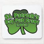 St. Patrick's Day Pub Crawll 2008 Mousepad