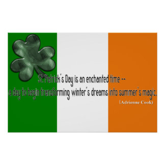 St. Patrick's Day Quote Print