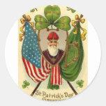 St. Patrick's Day Round Sticker