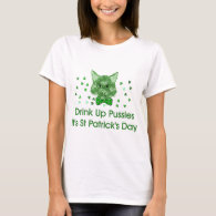 St Patrick's Day Scrapper Cat T-Shirt