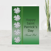 St. Patrick's Day - Secret Pal -Card Card