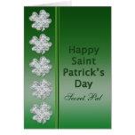 St. Patrick's Day - Secret Pal -Card Card