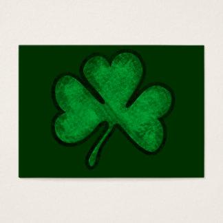 St. Patrick's Day Shamrock Business Card