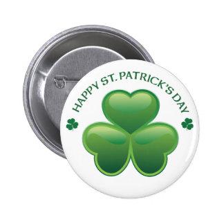 St Patricks Day Shamrock Pin