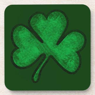 St. Patrick's Day Shamrock Drink Coaster