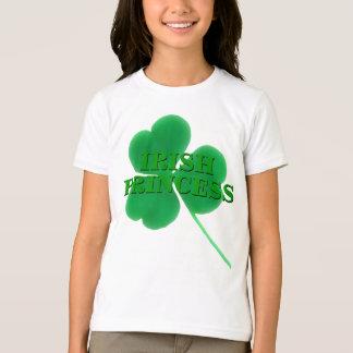St. Patrick's Day Shamrock Irish Princess T-Shirt