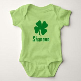 St. Patrick's Day   Shamrock Name Tee Shirt