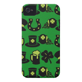 St Patricks Day Shamrock Pot of Gold Green Beer iPhone 4 Case-Mate Case
