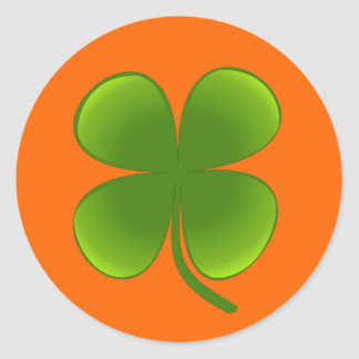 St Patricks Day Shamrock Stickers