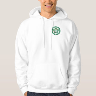 St Patrick's day: Shamrocks & Drinking Team Hoodie