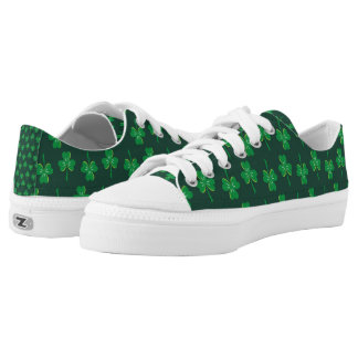 St. Patrick's Day Shamrocks Low-Top Sneakers