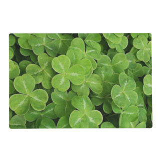 St. Patrick's Day - Shamrocks Placemat