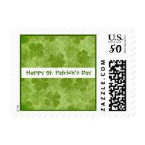 St Patrick's Day Shamrocks Postage
