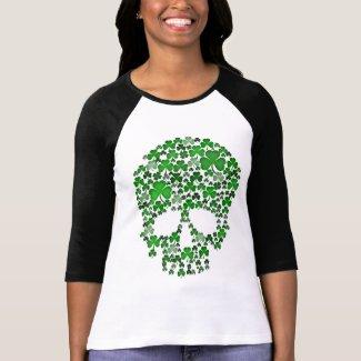 A Skull of Shamrocks Irish Shirt