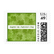 St Patrick's Day Shamrocks Stamp
