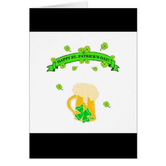St Patrick's Day Sign Card