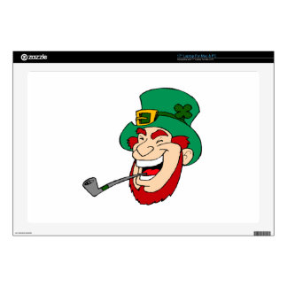 "St. Patrick's Day Decals For 17"" Laptops"