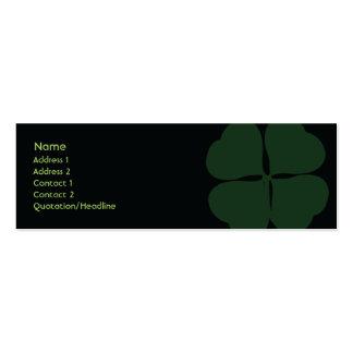 St. Patrick's Day - Skinny Mini Business Card