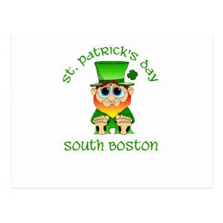 St Patrick's Day ~ South Boston Postcard