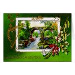 St. Patrick's Day Souvenir Greeting Card